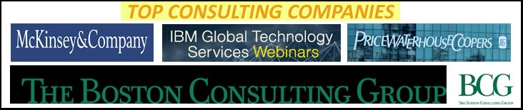 top consulting companies pgmp